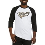 Baseball Swoosh Mom Mother's Baseball Jersey