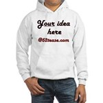 Personalized Customized Hooded Sweatshirt