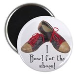 "Funny Bowling 2.25"" Magnet (10 pack)"