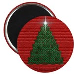 Celtic Christmas Tree Magnet