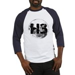 H3 On The Moon Baseball Jersey