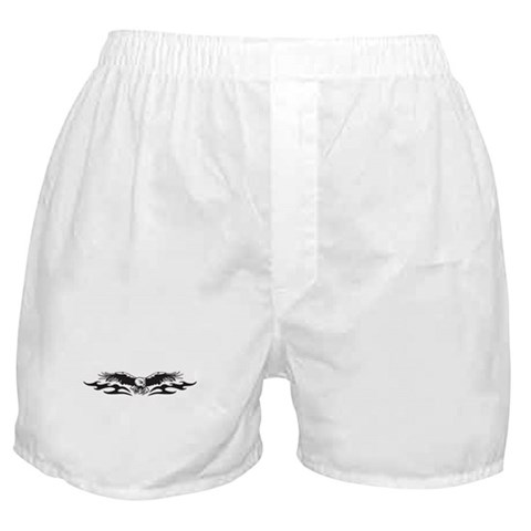 CafePress > Underwear & Panties > Tribal Eagle Tattoo Boxer Shorts. Tribal Eagle Tattoo Boxer Shorts