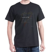 Nurburgring map  t-shirt