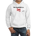 Dog Grandchild Hooded Sweatshirt