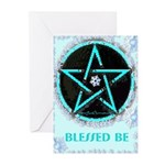 Ice Pentacle Greeting Cards (10 Pk)