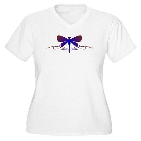 Tribal Tattoo Dragonfly T-Shirt
