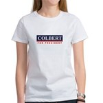 Colbert for President Women's T-Shirt