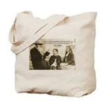 Leo Tolstoy: God Quotes Tote Bag