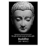 Buddhist Religion: Gift of Truth Large Poster