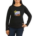 Bionic Turkey On Sale Women's Long Sleeve Dark T-S