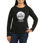 Betting On Alice Women's Long Sleeve Dark T-Shirt