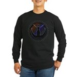 Midnight Goddess Long Sleeve Black T-Shirt