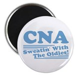 """CNA Sweatin' With The Oldies 2.25"""" Magnet (10 pack"""