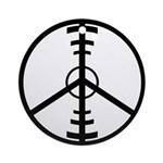 Peace Through Superior Firepower Keepsake (Round)