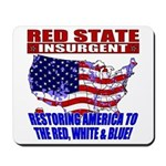 Red State Insurgent Mousepad