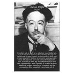 de Broglie: Quantum Waves Large Poster