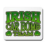 Irish Car Bomb Team Shamrock Mousepad