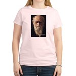 Charles Darwin: Evolution Women's Pink T-Shirt