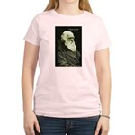 Charles Darwin: Science Women's Pink T-Shirt