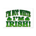 I'm Not White I'm Irish Mini Poster Print