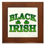 Once You go Irish You Never Go Back Framed Tile