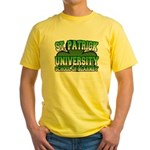 St. Patrick University School of Blarney Yellow T-
