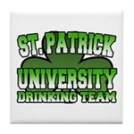 St. Patrick University Drinking Team Tile Coaster