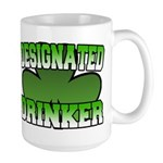 Designated Drinker Large Mug