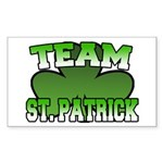 Team St. Patrick Rectangle Sticker