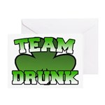 Team Drunk Greeting Card