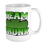 Team Drunk Large Mug