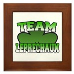 Team Leprechaun Framed Tile