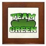 Team Green Framed Tile