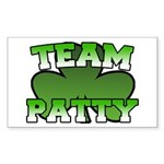 Team Patty Rectangle Sticker