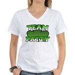 Team Patty Women's V-Neck T-Shirt