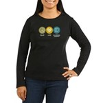 Peace Love Occupational Therapy Women's Long Sleev