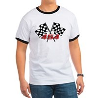 454 checkered flag t-shirt