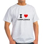 I (heart) Compliance Light T-Shirt