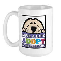 Save a Life Large Mug