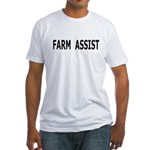 Farm Assist Fitted T-Shirt