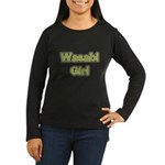 Wasabi Girl Women's Long Sleeve Dark T-Shirt