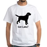 Got Labs? White T-Shirt