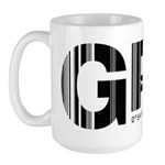 Galapagos Ecuador GPS Air Wear Large Mug