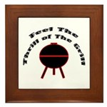 Thrill of the Grill Framed Tile