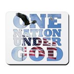 """One Nation Under God"" Mousepad"