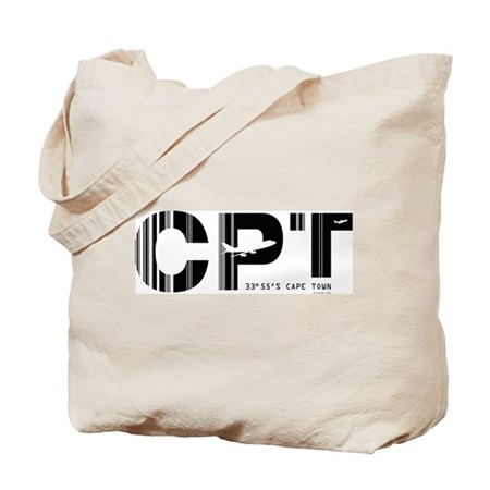 Cape Town Airport Code CPT South Africa Tote Bag