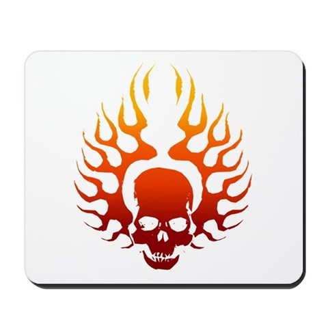 Flaming Skull Tattoo t-shirts and gifts for tattoo lovers.