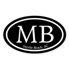 Myrtle Beach Car Sticker