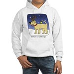 Reindeer Yellow Lab Hooded Sweatshirt