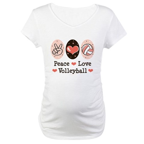 Peace Love Volleyball Shirt